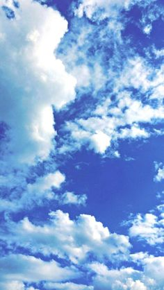 blue, sky, and clouds image Backgrounds + Headers in