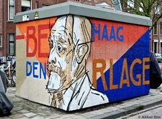 Street Art - The Hague - The Netherlands