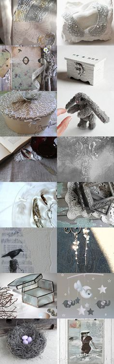 Silver Lining by FrenchPaperMoon on Etsy--Pinned+with+TreasuryPin.com