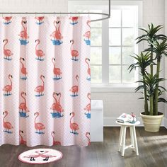 Balido Cotton Printed Shower Curtain