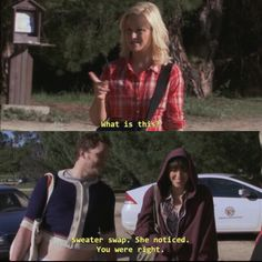 April and Andy are goals