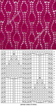 patrón de la antorcha 257   patrón de tejer con agujas directorio