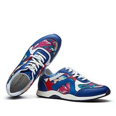 Men Couple Casual Fashion Sneakers Breathable Athletic Sports Shoes BlueUS6.5 - Brought to you by Avarsha.com