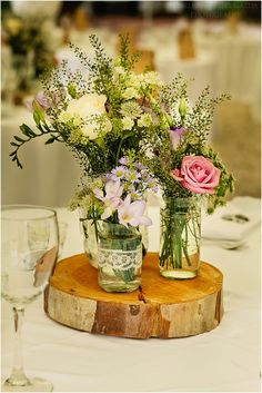 Rustic centrepiece, Vintage, shabby chic wedding decorations and flowers by Rachel Rose Weddings in Spain- www.weddingvenuesinspain.com, photography by www.limelight.pl