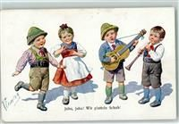 Kinder tanzen und musizieren