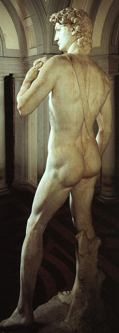 Arte - Escultura - Itália - MICHELANGELO - DAVID 1501 - COSTAS Blog Biografia