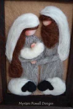 Christmas Nativity  Christmas Decor  by MyriamPowellDesigns, $55.00