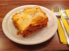 Platz 9: Lasagne Bolognese