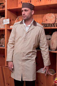 Siete pronti per il cambio di stagione? Camice Uomo da Lavoro Alimentare Industria Manica lunga Abbigliamento Abiti