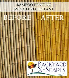 How To Choose the Right Wood Stain Have you considered adding wood stain to your bamboo fencing? Bamboo fencing comes in two unstained colors: natural and natural black. Enhance the natural color of bamboo by adding a wood stain to it. We recommend that...
