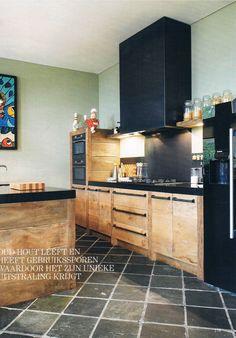 Maatwerk keuken sloophout landelijke stijl van RestyleXL #keuken