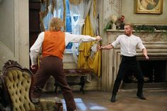 """S4x02 """"A Melanie & Josiah Christmas"""" -We couldn't believe Josiah and Alistair turned out to be brothers… What a jaw-dropping moment! #MelissaAndJoey"""