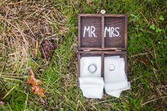 Homemade Wedding Ring Box