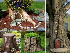 Διακόσμηση κήπου με δέντρα! Εξαιρετικές ιδέες.