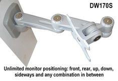 D1680 Folding LCD Wall Mount & Arm