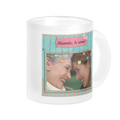 Caneca para mamae, no layout205 ...... #MothersDay #DiaDasMaes #gifts #presentes #mamae #personalizado #mom #custom #zazzle #gatalua