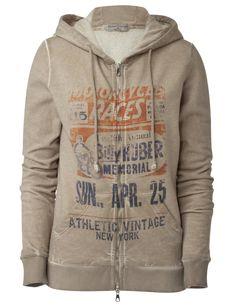 """Athletic Vintage Hoodie """"Billy Huber"""""""