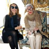 Iris Apfel does more in a week than women half her age. Or a quarter. Or even a tenth. This week alone, she went to Paris, sat front row at Dries Van Noten's Fall 2016 show, hosted a party at Le Bon Marche (celebrating a collection of pieces inspired by her personal style), visited Karl Lagerfeld's personal library, and saw friends like the legendary actress Marisa Berenson, journalist Mademoiselle Agnès and Bergdorf Goodman's Linda Fargo. Here, the 94-year-old icon provides a play-by-play…