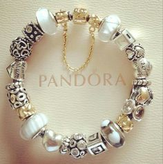 Gold And Silver Pandora Charms