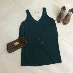 SALE Dark green dress Dark green dress, NWT, never worn, size small, perfect dress to wear with flats or dress up with heels Forever 21 Dresses