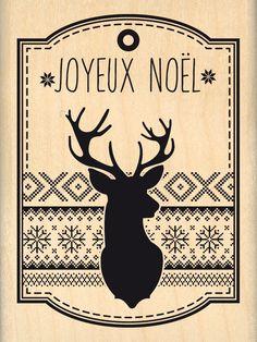 """""""Étiquette Grand Renne"""" partie de Collection Automne Hiver 2015 """"Fantaisies Nordiques"""" de  Sandra Charbonnel pour Florilèges Design"""
