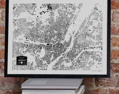 Verkauf Gebäude in München Stadt Karte drucken
