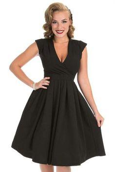 Černé šaty Lady V London Eva Lady V London | Blanka Straka