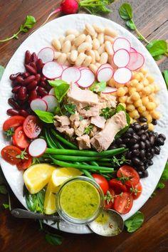 Healthy Mediterranean Tuna Salad