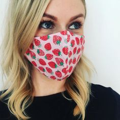 Fashion Face Mask, Mask Making, Ear Loop, Stay Safe, Flannel, Masks, Just For You, Medium, Cute