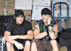 the Berry brothers ~A7X roadies