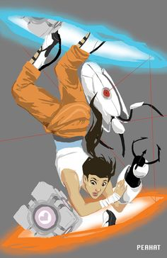 Chell - composition is awesome.