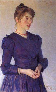 Peder Severin Krøyer - Danish painter, 1851-1909: Marie Krøyer