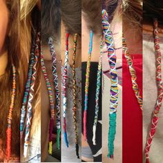More hair wraps by Haley :))