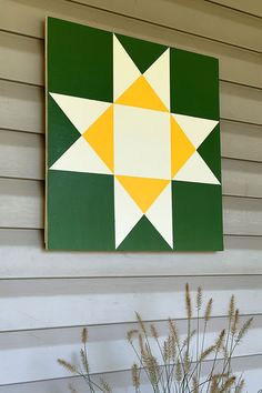 Barn Quilt Designs, Barn Quilt Patterns, Quilting Designs, Pattern Drawing, Pattern Art, Diy Yard Decor, Painted Barn Quilts, Barn Signs, Barn Wood Crafts