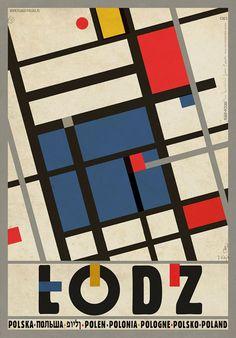 Ryszard Kaja Łódź  Polish Promotion Poster