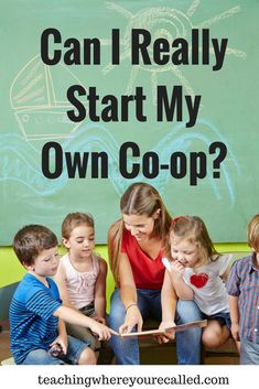 Yes! You can really start your own co-op! Whether it's toddlers, preschoolers, or even elementary aged students, being in a co-op has been amazing! Read a bit of our story here!