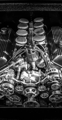 Ford engine (550 HP, 7,5L)