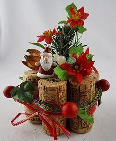 Weihnachtliches Basteln mit Korken