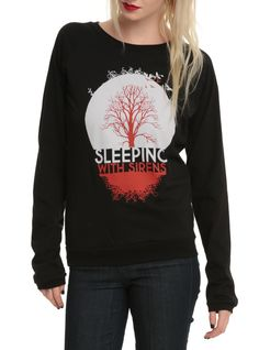 Sleeping With Sirens Tree Girls Pullover Top | Hot Topic