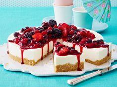 perfect sunday morning breakfast cheesecake... yummy