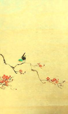 依然春色滿人間 (1) 2015 嶺南畫作品系列 oldsum artwork chanwingsum.weebly.com