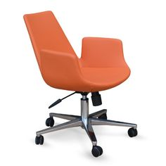 Found it at AllModern - Eiffel Leather Office Chair