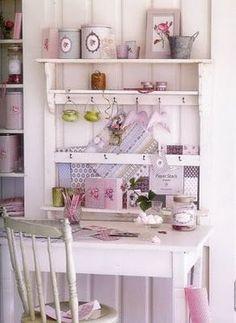 Flowery Shabby chic decoration -  #home_design #home_decor #home_ideas #kitchen #bedroom #living_room #bathroom - myshabbyhomes.com...