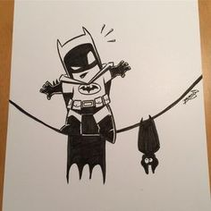 In between commission work I'm also doing some Batman sketching in practice for Batman day next Saturday. Cartoon Sketches, Art Drawings Sketches, Cartoon Art, Cool Drawings, Drawing Cartoons, Joker Cartoon, Batman Drawing, Marvel Drawings, Batman Art