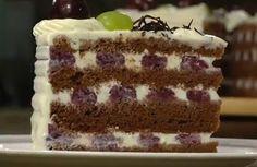 FarkasVilmos: Feketeerdő torta Hungarian Recipes, Hungarian Food, Vanilla Cake, Tiramisu, Fondant, Cheesecake, Ethnic Recipes, Cukor, Drink