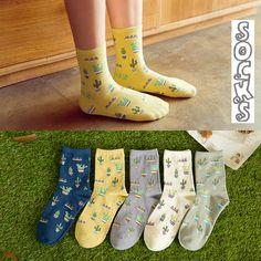 CHIC Funny Sock Blue Water Cartoon Animal Print For Woman Man Boy Girl Free Size