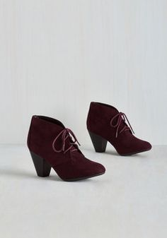Have I Got Shoes for You! Bootie in Mulberry