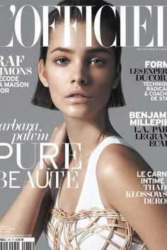 Barbara Palvin Stars in L'Officiel Turkey May 2013 Cover Shoot by Emre Guven