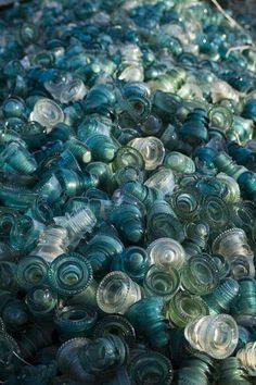 Antique Bottles, Old Bottles, Vintage Bottles, Antique Glass, Glass Bottles, Antique Decor, Electric Insulators, Insulator Lights, Glass Insulators