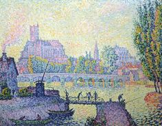 Paul Signac Neo-impressionist painter | Pointillist style